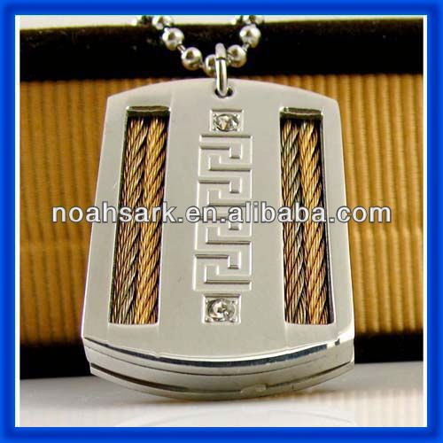 Jewelry wholesale high quality sublimation blanks pendants