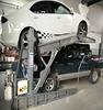 Tilting For car And Motorcycle Cheap 2 post car lifting equipment
