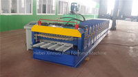 XN 836+836 double deck ROOFING SHEET PANEL METAL ROLL FORMING MACHINE new DESIGN