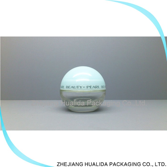 China Wholesale Market Flat Drum Glass Jars