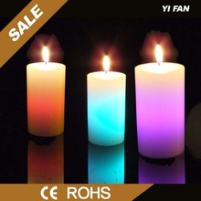 Wholesale Star Shaped Wax Color Changing Led Magic Candle