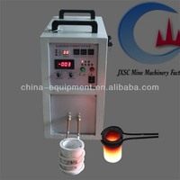 small scale 1-8 kg gold smelting equipment