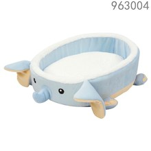 best selling hot sale cheap cute unique home goods bottom waterproof animal Elephant shape pet dog bed with removable cushion