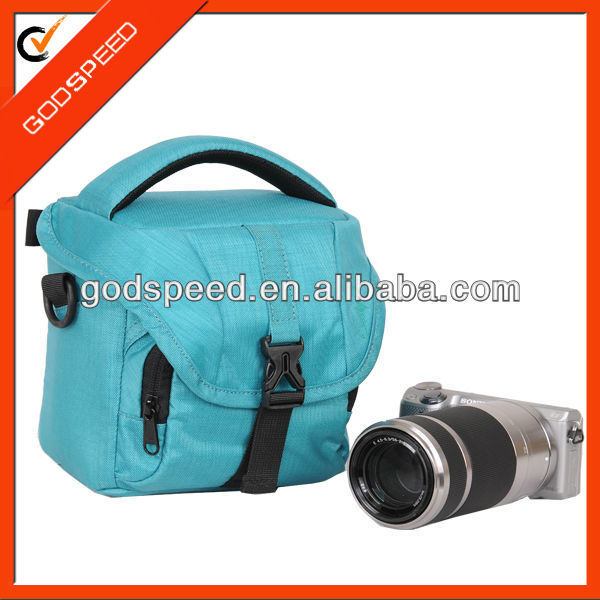 bingo material 600D camera bag triangle mini DSLR slr digital shoulder camera bag/dslr triangle camera bag