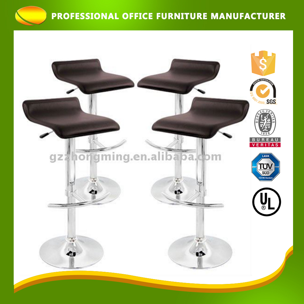 OEM Custom PU Leather Adjustable Swivel Lift High Chair Bar Stool