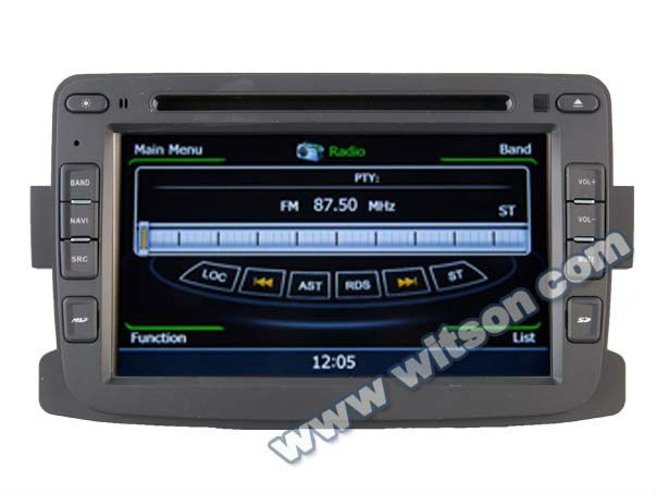 WITSON RENAULT car dvd DUSTER gps player with File Management