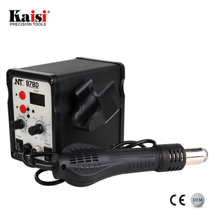 Kaisi SMD 2 in 1 Hot Air Gun Soldering Iron Mobile Phone BGA Rework Station