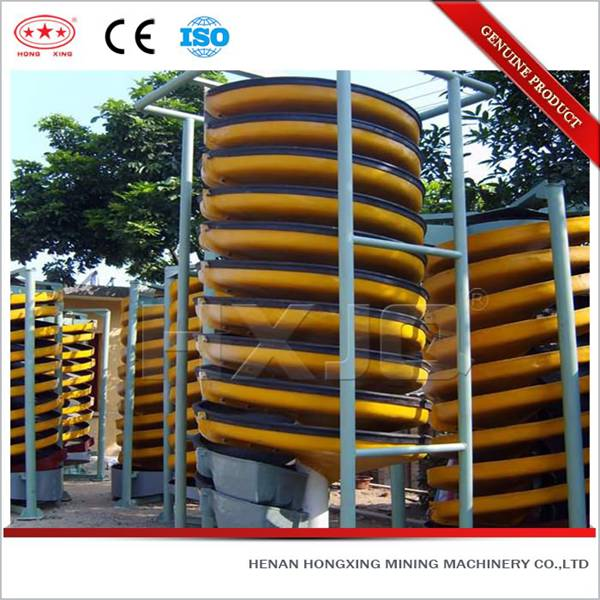 Low price high efficiency professional ilmenite spiral chute