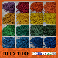 Safety Colorful EPDM Rubber Granules for Outdoor Sport Flooring