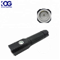 LED XPG+SMD flashlight led Double head torch light with 1 magnet