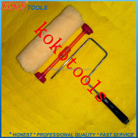 High quality plastic handle painting roller frame cover roller