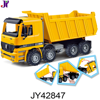 1:22 Plastic Engineering Construction Machine Friction Dump Truck Toys for sale