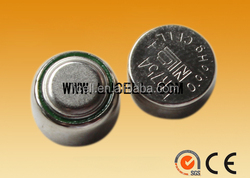 LR754 100% brand new mercury free AG5 LR48 alkaline button cell , 2 pcs AG5 button cell battery for latex LED balloon