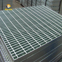 Anti Slide Galvanized Steel Grating , Light Weight Metal Grate Sheet For Stair Tread