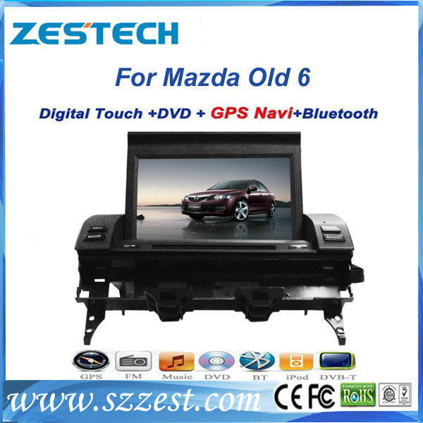 ZESTECH best price Car dvd gps for Mazda 6 Car dvd gps with GPS,buletooth,ipod,2004 2005 2006