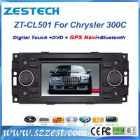 "ZESTECH factory price radio Dvd GPS bluetooth 5"" car gps navigation for Chrysler 300C car gps navigation with dvd"