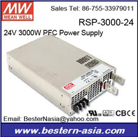 Meanwell UL power supply 24V 3000W Meanwell RSP-3000-24