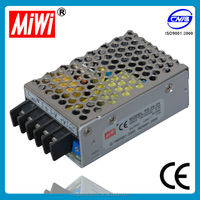 Mini smps power supply RS-25-12 12v dc voltage regulator