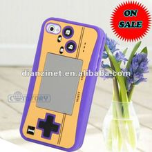 Game Machine Designed Soft Silicone Back Cover Case Back for iPhone4/4S