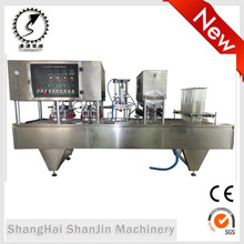 Full Automatic Yoghurt Filling and Sealing Machine yogurt cup filling sealing machine cup yoghurt filling packing machine