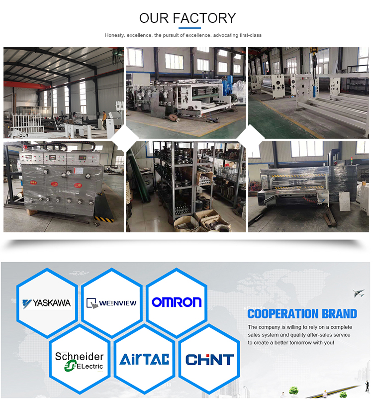 high speed corrugated carton box machine stitching packing machinery
