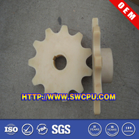Customized CNC machining parts small nylon plastic sprockets gear
