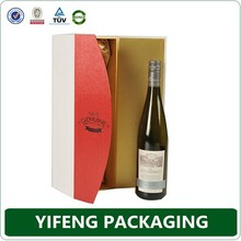 Alibaba china trade assurance 100% quality custom dimension of carton wine box paper box customized