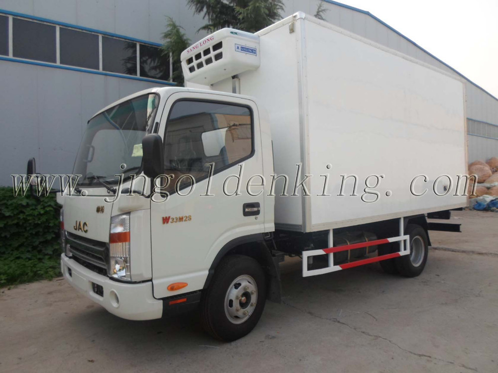 refrigerated cargo container and FRP polyurethane frozen truck body for sale