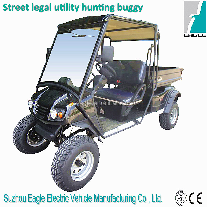 EEC golf car/golf cart/golf buggy on road street legal homologation golf car 48V 5.3KW sepex system,EG2040HCXR-02