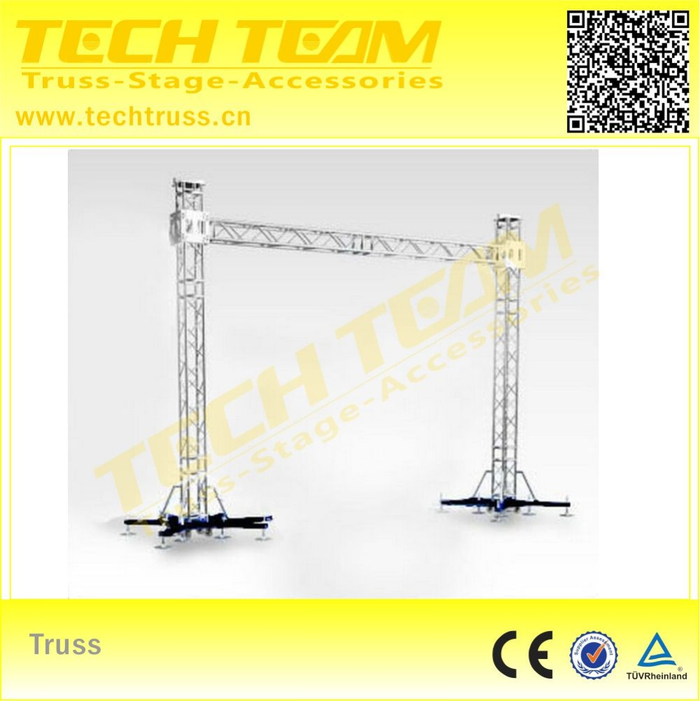 Aluminum LED Display Truss System , Used to sell display truss