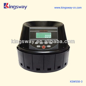 LCD Euro Coin Counting Machine (KSW550-3)