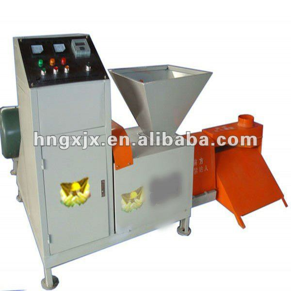 sawdust/wood/charcoal biomass briquette machine on hot selling