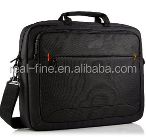 17.3 inch Black Multiple Compartments Laptop Notebook Briefcase Computer Bag + Shoulder Strap