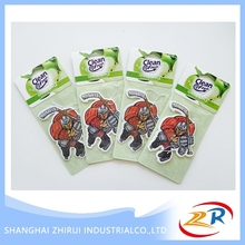 Hot Selling Paper Card Promotion Aromatic Car Air Freshener