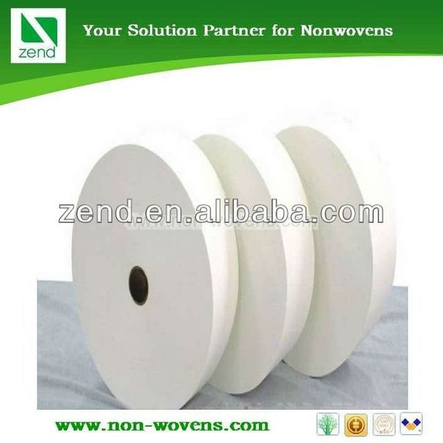 high quality nonwoven fabric jumbo roll airlaid paper