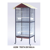 High quality plastic wire cage foldable pet cage folding bird cage