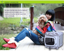 deluxe pet home Waterproof fabric airline pet carrier wholesale