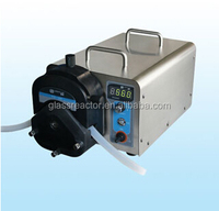 High Precision Laboratory acid resistance Peristaltic Pump With Low Price WG600S variable speed peristaltic pump