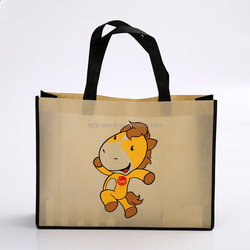 Top Selling Highest Quality Custom Tag Non-Woven Folderable Shopping Bag Qingdao Promotional