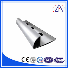 6000 Grade Structural ISO9001 Aluminum Dovetail Extrusion for Title Trim
