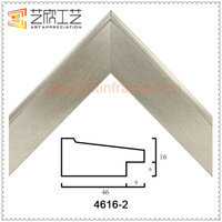2016 Spring Latest Design Of Silver Picture Frame Handmade Photo Frame Moulding