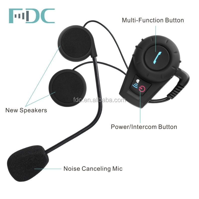 motorcycle helmet intercom bluetooth 500meters
