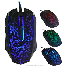 4000DPI Changeable Colorful USB 6D Gaming Mouse for wholesale