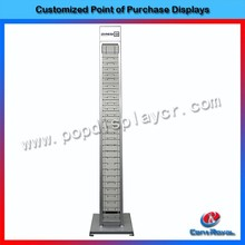 Retail optical shop free standing metal eyewear display