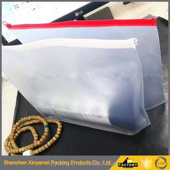 Professional bag factory produce clear plastic pvc cosmetic bags with zipper closure PVC transparent cosmetic bag with handle
