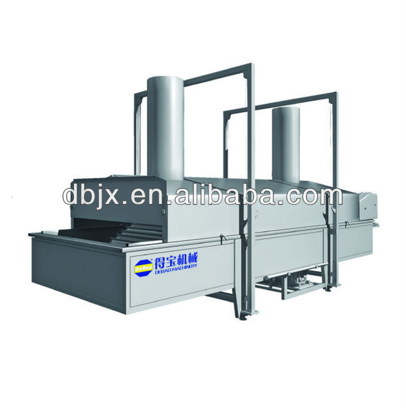 potato fryer industrial machine frozen french fries frying machine for factory