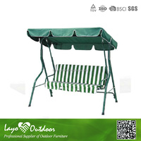 Outdoor Furniture General Use and Garden Chai Specific Use 3 Seat Swing Chair SW12004