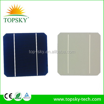 2014 latest solar cells with high efficiency 125x125 mono solar cell for modules