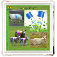 Autokem best seller sheep marker, inverted livestock/animal marker, goat/ram/lamb marking spray paint