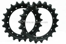 Excavaror sprocket rim/bulldozer sprocket segment and other machinery parts